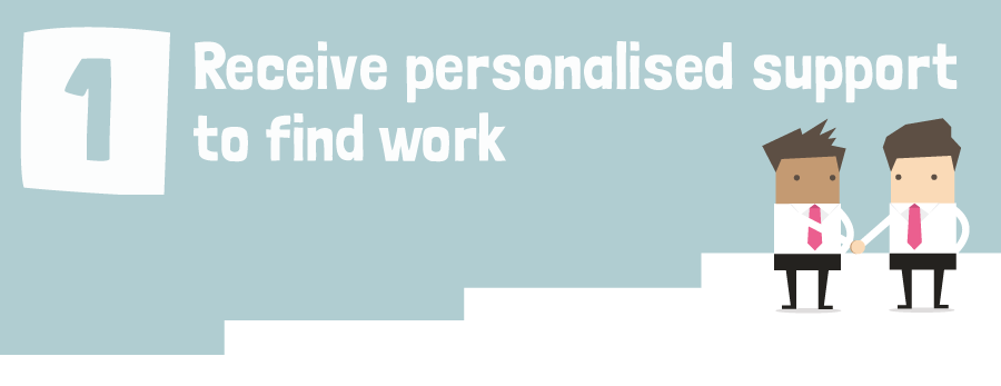 get personal support to find work